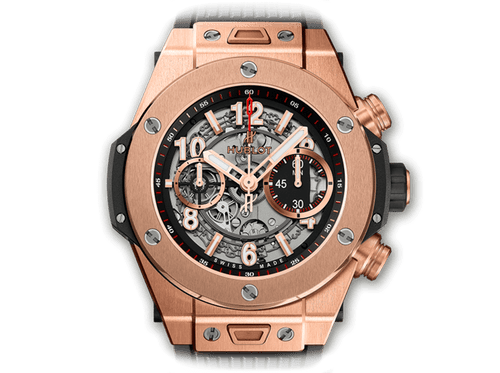 Buy original Hublot BIG BANG UNICO KING GOLD 411.OX.1180.RX with Bitcoins!