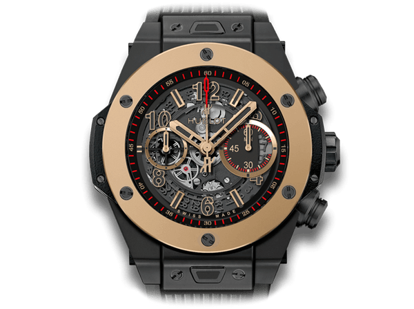 Buy original Hublot Big Bang Unico Magic Gold 411.CM.1138.RX with Bitcoins!