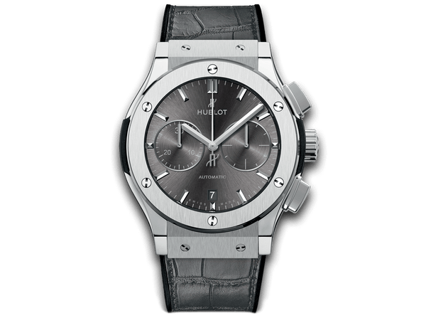 Buy original Hublot CLASSIC FUSION RACING GREY CHRONOGRAPH TITANIUM with Bitcoins!