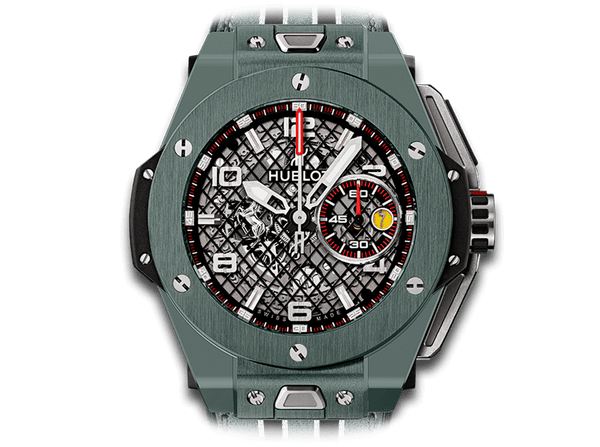 Buy original Hublot Big Bang Ferrari Speciale 401.FX.1123.VR with Bitcoins!