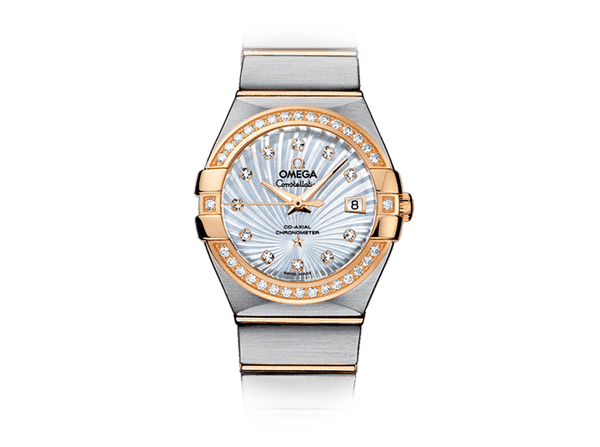 Buy original Omega CONSTELLATION OMEGA CO-AXIAL 123.25.27.20.55.002 with Bitcoin!