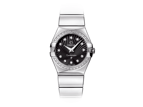 Buy original Omega CONSTELLATION QUARTZ 123.15.24.60.51.002 with Bitcoin!
