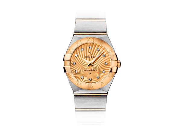 Buy original Omega CONSTELLATION QUARTZ 123.20.24.60.58.001 with Bitcoin!