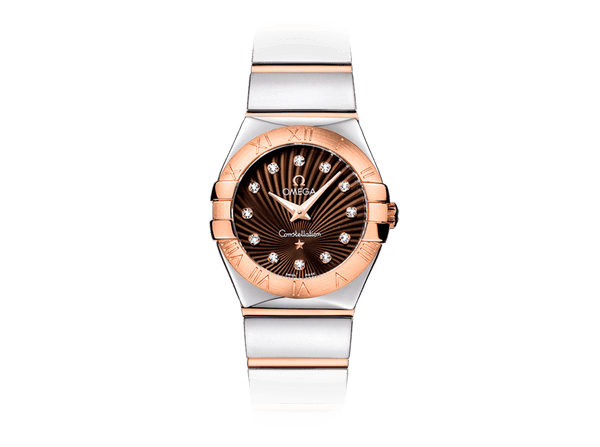 Buy original Omega CONSTELLATION QUARTZ  123.20.24.60.63.002 with Bitcoin!
