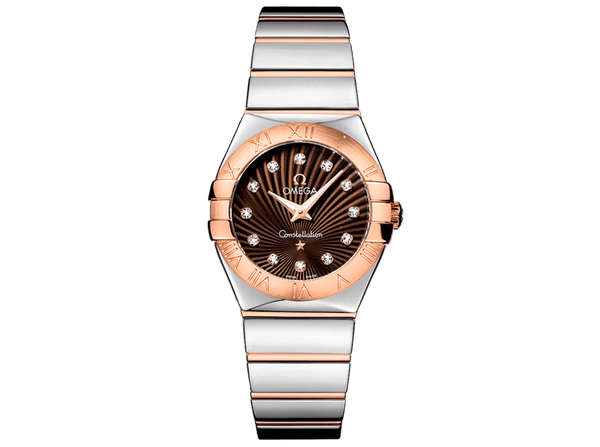 Buy original Omega CONSTELLATION QUARTZ 123.20.27.60.63.002 with Bitcoin!