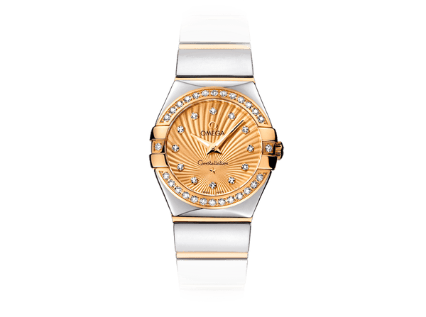 Buy original Omega CONSTELLATION QUARTZ 123.25.24.60.58.002 with Bitcoin!