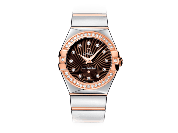 Buy original Omega CONSTELLATION QUARTZ 123.25.27.60.63.002 with Bitcoin!