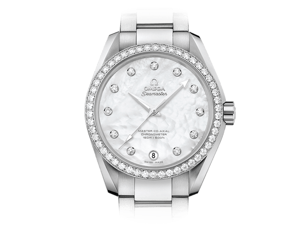 Buy original Omega SEAMASTER AQUA TERRA 150M OMEGA MASTER CO-AXIAL LADIES 231.15.39.21.55.001 with Bitcoin!