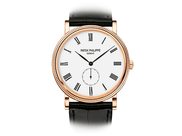 Buy original Patek Philippe Calatrava 5119R-001 with Bitcoins!