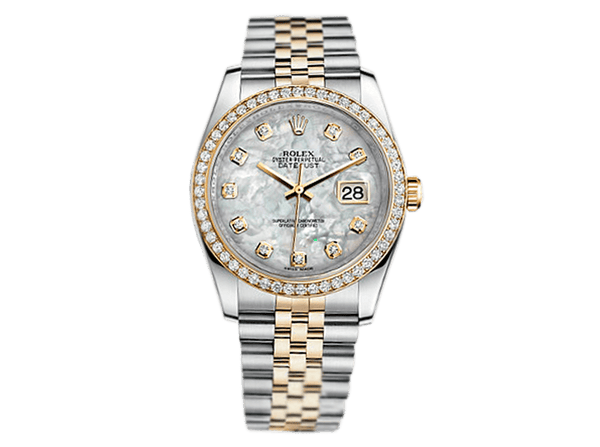 Buy original Rolex DATEJUST 36 116243 with Bitcoins!