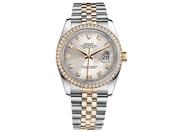 Buy original Rolex DATEJUST 36 116243 with bitcoin!
