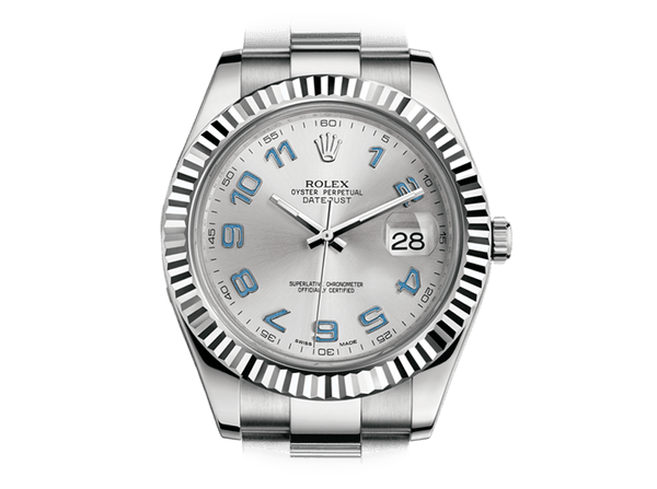 Buy original Rolex DATEJUST II 116334 with bitcoin!