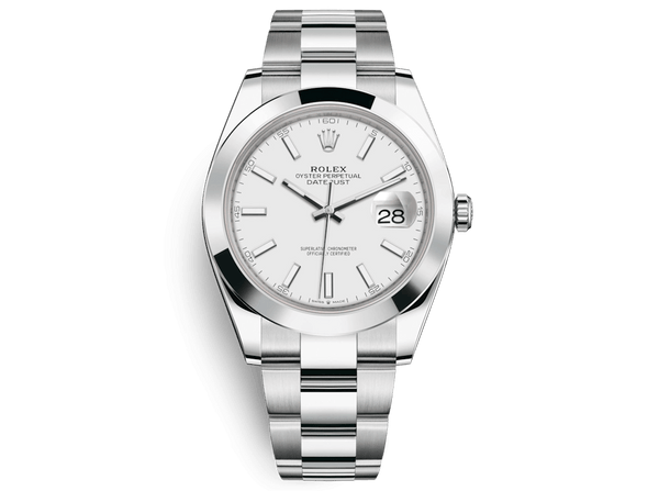 Buy original Rolex DATEJUST 41 m126300-0005 with Bitcoins!