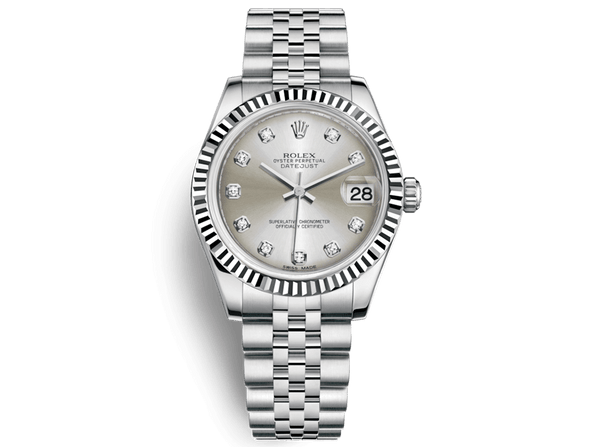 Buy original Rolex DATEJUST 31 m178274-0018 with Bitcoins!