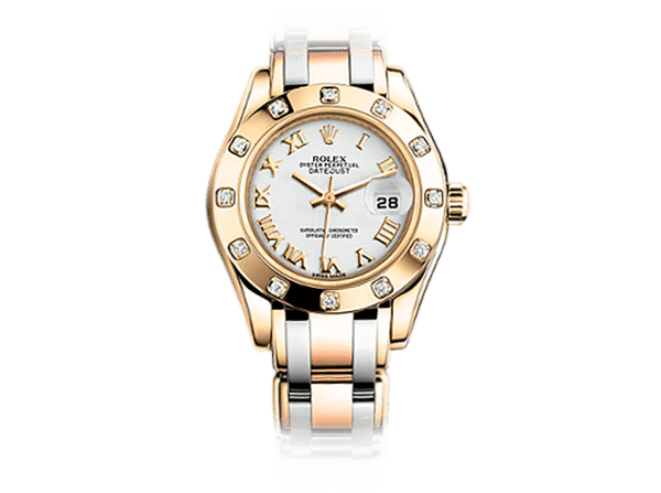 Buy original Rolex PEARLMASTER 29 81318 with Bitcoins!