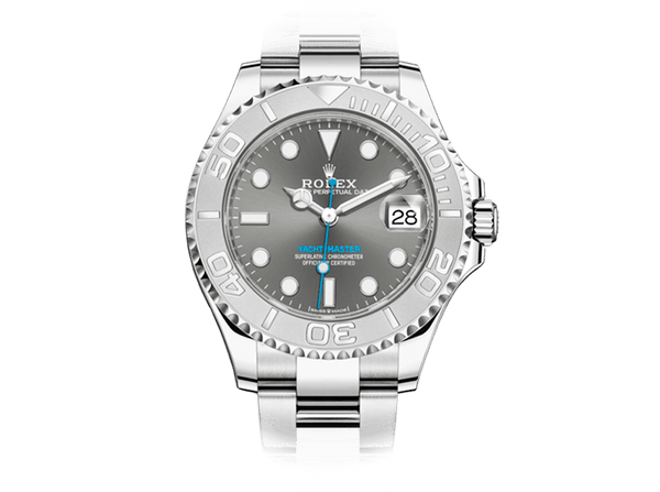 Buy original Rolex YACHT-MASTER 268622 with Bitcoins!