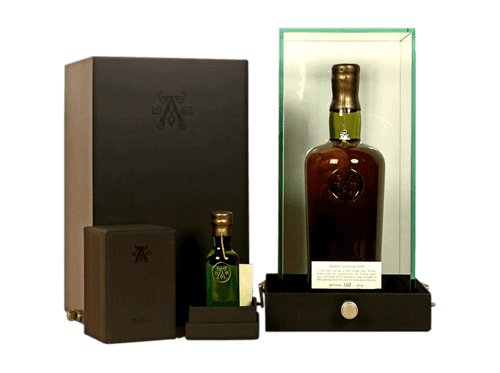 Buy original Whiskey Ardbeg - Islay Single Malt + 5cl Miniature - 1965 39 year old with Bitcoins!