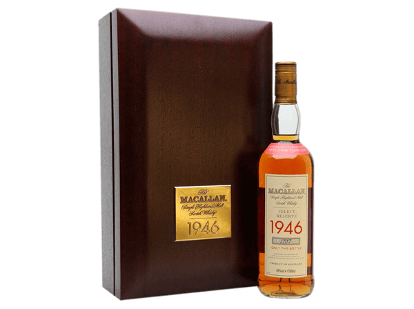 Buy original Whiskey Macallan 1946 Select Reserve 52 Year Old with Bitcoins!