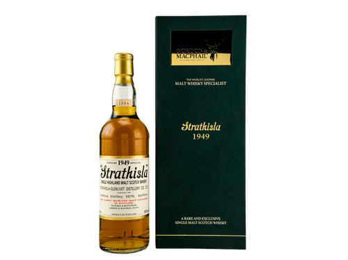 Buy original Whiskey STRATHISLA 1953/2019 with Bitcoins!