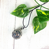 diffuser necklace, aromatherapy jewellery, diffuser pendant
