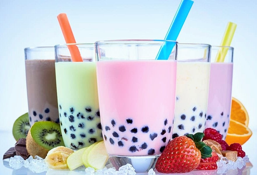 what is boba tea types