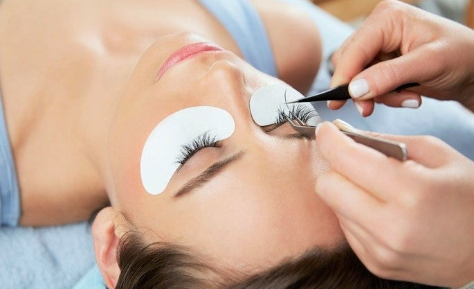 how eyelash extensions work procedure