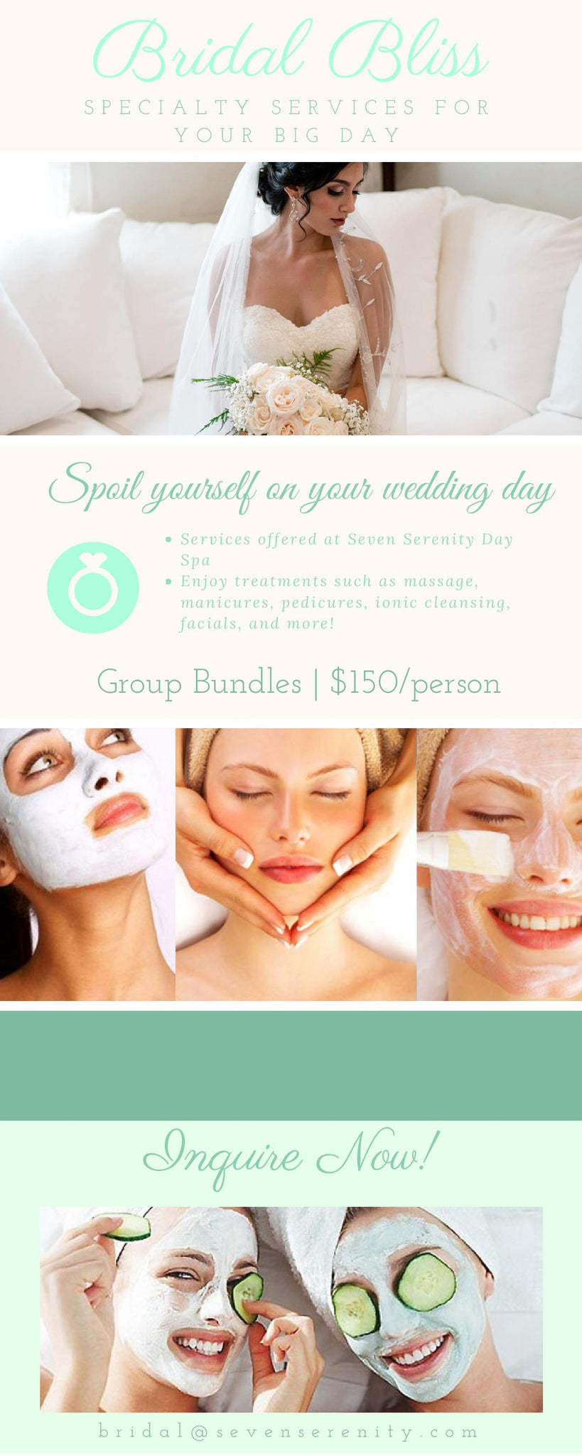 Bridal Beauty Packages for Every Utah Bride