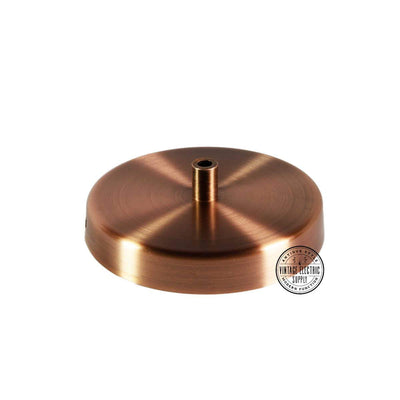 Aged Copper Deluxe Canopy Kit - Vintage Electric Supply