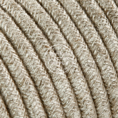 Canvas Linen Heavy Gauge Cable 15/3 - Vintage Electric Supply