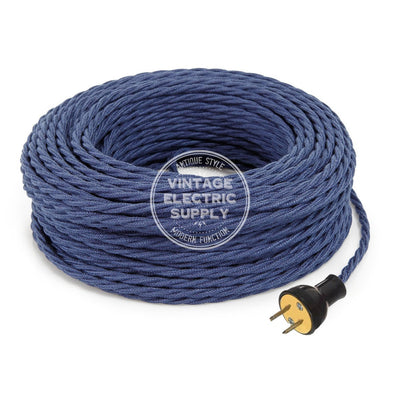 Denim Raw Yarn Twisted Re-Wire Kit - Vintage Electric Supply