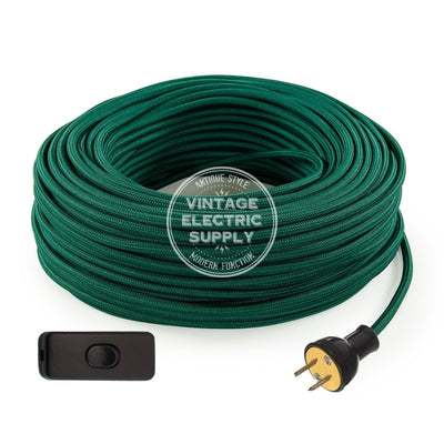 Emerald Rayon Re-Wire Kit with Switch - Vintage Electric Supply