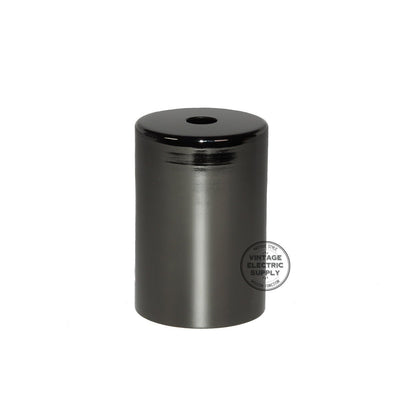 Flat Top Metal Socket Cover Kit - Black Pearl - Vintage Electric Supply