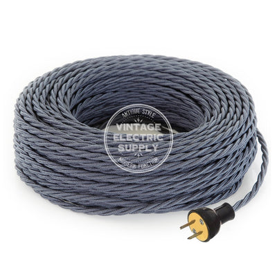Graphite Raw Yarn Twisted Re-Wire Kit - Vintage Electric Supply