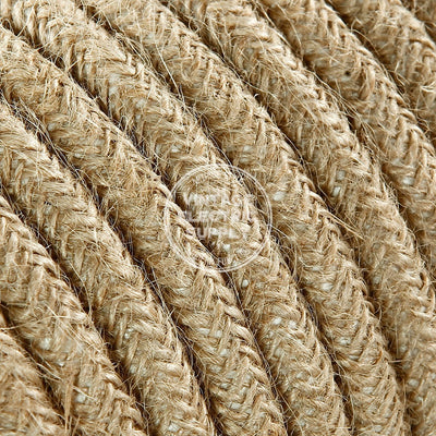 Natural Jute Heavy Gauge Cable 15/3 - Vintage Electric Supply