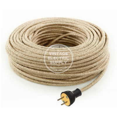 Natural Jute Re-Wire Kit - Vintage Electric Supply