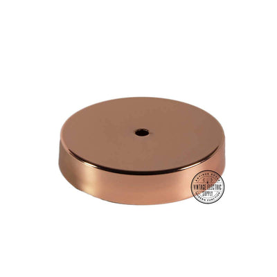 Polished Copper Canopy Kit - Vintage Electric Supply