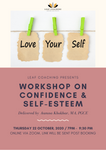 Leaf Coaching Workshop on Confidence & Self-Esteem