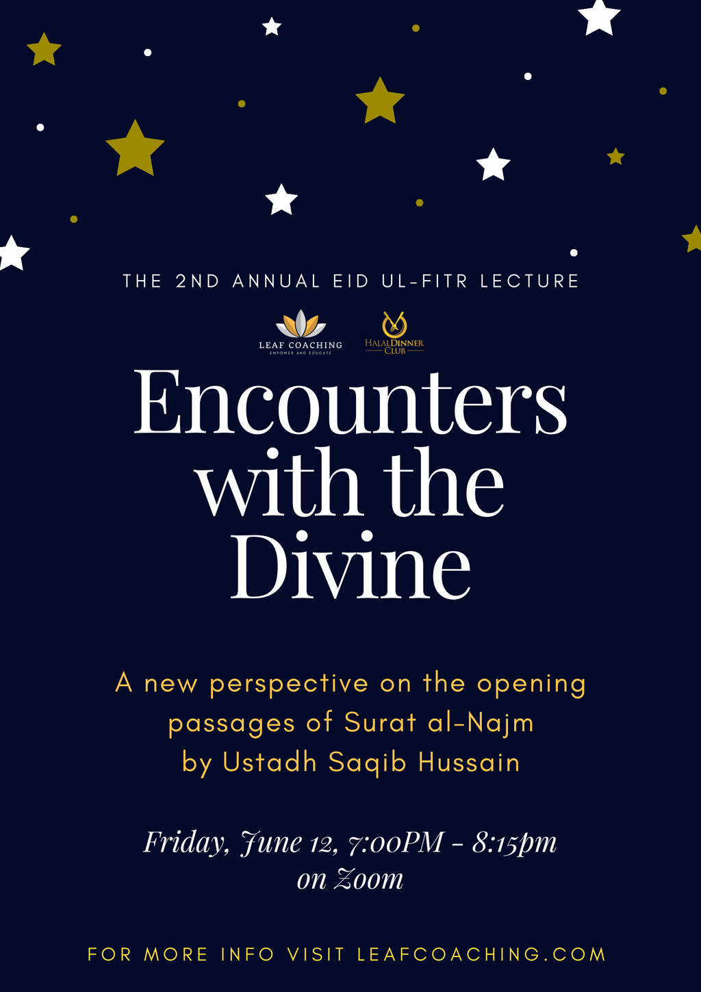 Encounters with the Divine