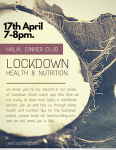 Lockdown Health and Nutrition Virtual Event