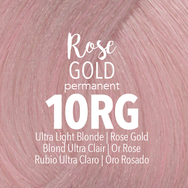 Permanent Rose Gold