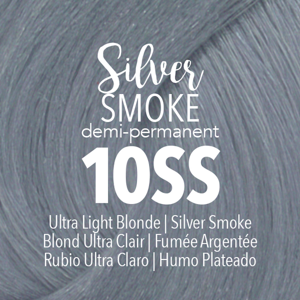Demi-Permanent Silver Smoke