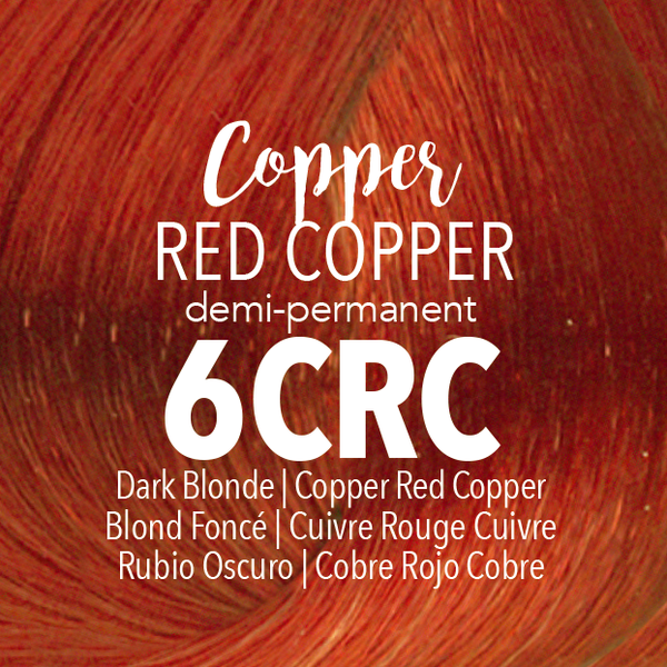 Demi-Permanent Copper Red Copper