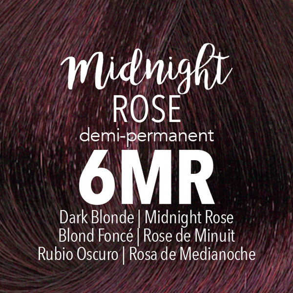 Demi-Permanent Midnight Rose