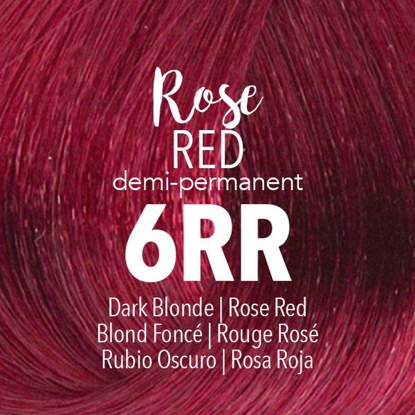 Demi-Permanent Rose Red