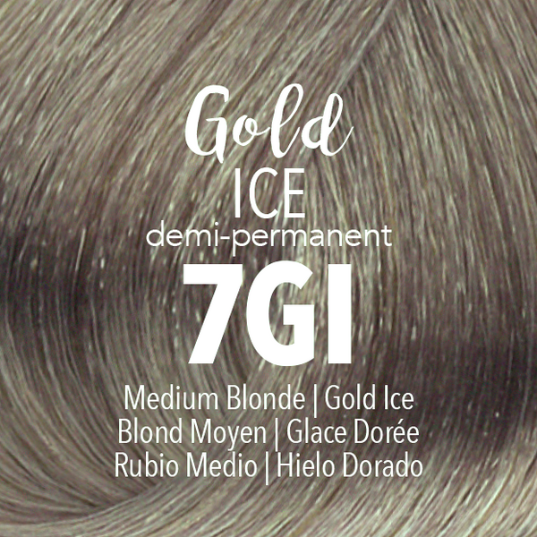 Demi-Permanent Gold Ice