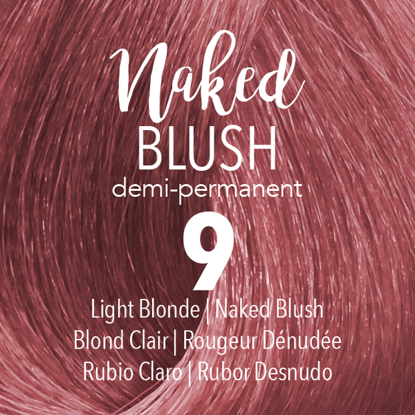 NEW Demi-Permanent #NAKED2U Collection NAKED BLUSH