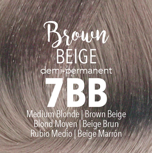 Demi-Permanent Brown Beige 7BB