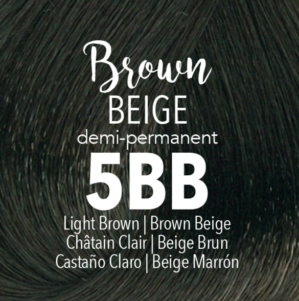 Demi-Permanent Brown Beige 5BB