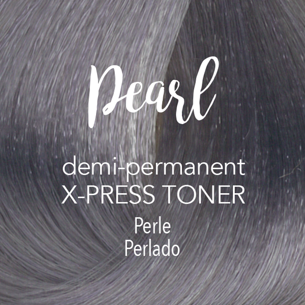 Demi-Permanent X‑PRESS Toner Pearl