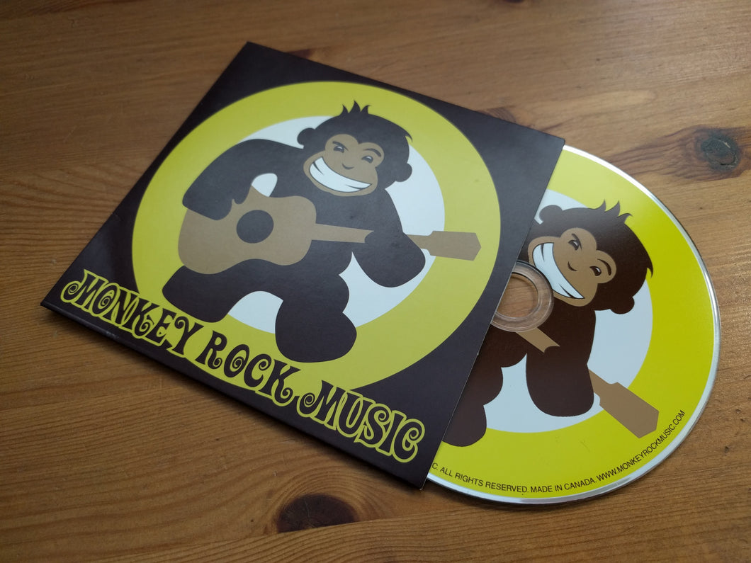 Monkey Rock Music Album - CD